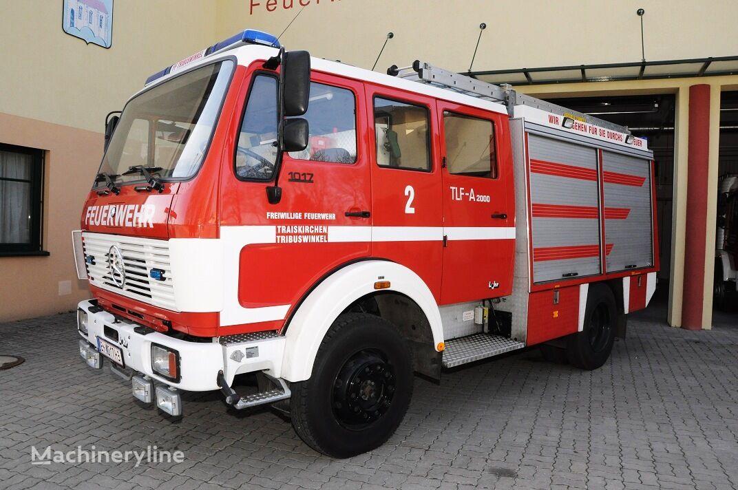 gaisrinė mašina MERCEDES-BENZ 1017 AF