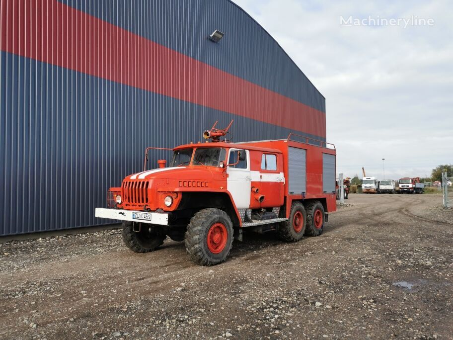 gaisrinė mašina URAL 43202