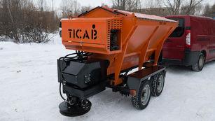 naujas prikabinamas smėlio barstytuvas TICAB Разбрасыватель песка и соли RPS-1500
