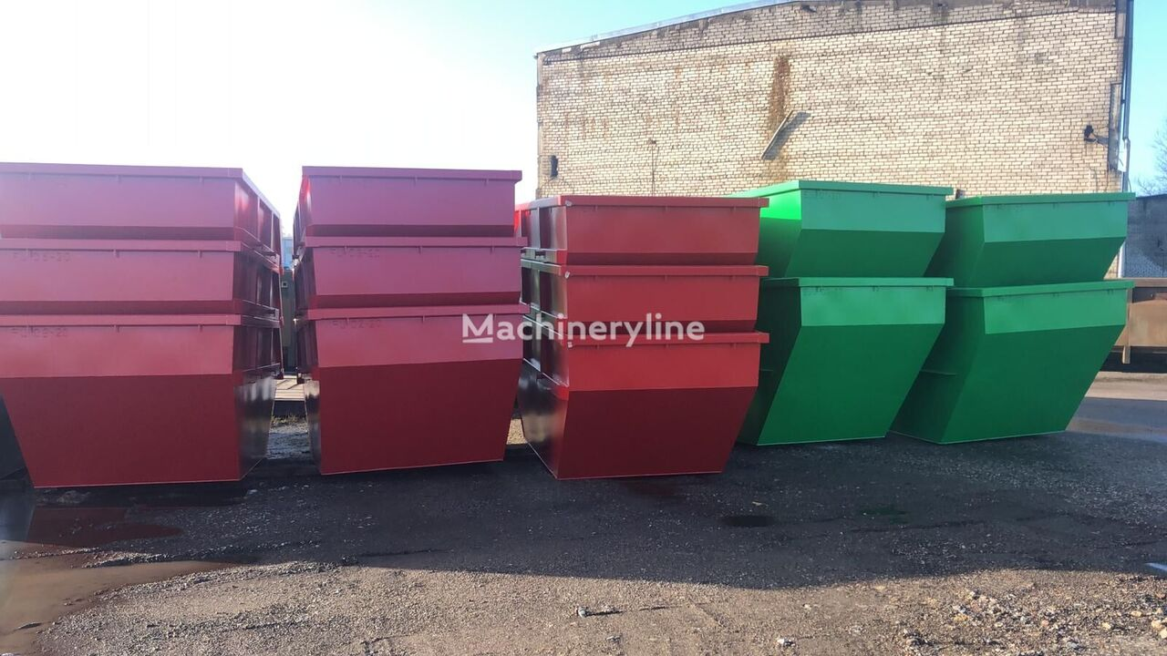 naujas statybinių atliekų konteineris 5m3  7m3  10m