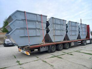 naujas statybinių atliekų konteineris Absetzcontainer Absetzmulde Container Mulde 7cbm offen DIN 30720