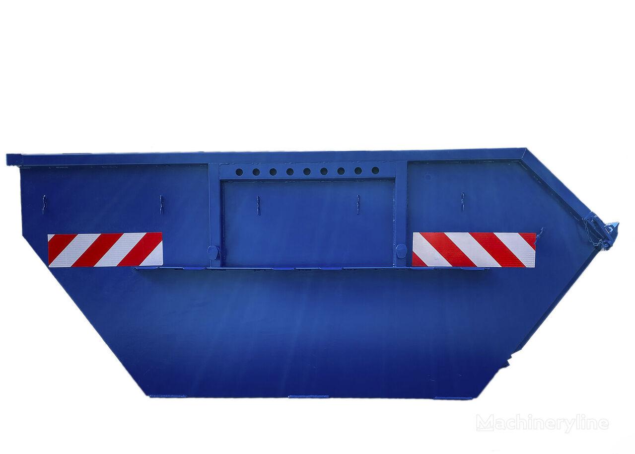 naujas statybinių atliekų konteineris Absetzmulde Absetzcontainer Mulde Container offen klappe