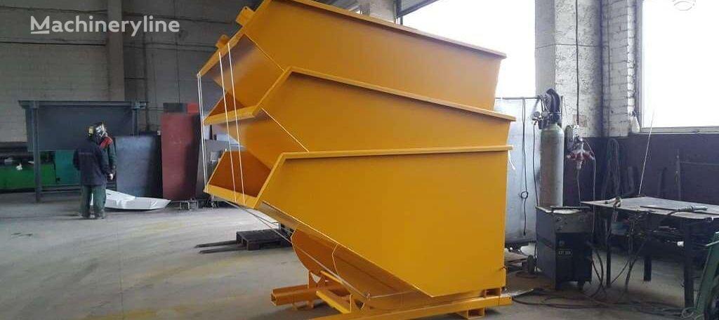 naujas statybinių atliekų konteineris HNH Engineering Išverčiamas konteineris