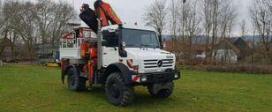 universali komunalinių paslaugų mašina MERCEDES-BENZ Unimog U 5000 HIDRAULINIS GRAZTAS