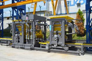 nauja betoninių blokų gamybos įranga ELKON ELKOBLOCK-36S FULLY AUTOMATIC SINGLE LAYER Concrete Block Machin
