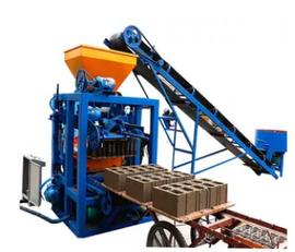 nauja betoninių blokų gamybos įranga SINOWAY QT4-24