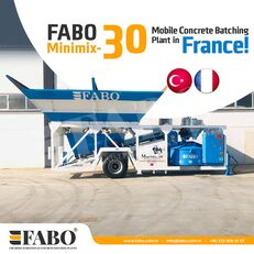 nauja betono gamykla FABO MINIMIX-30M3/H MINI CENTRALE A BETON MOBILE