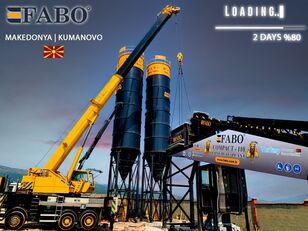 nauja betono gamykla FABO MIX COMPACT-110 CONCRETE PLANT   CONVEYOR TYPE