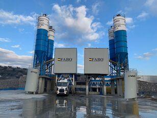 nauja betono gamykla FABO POWERMIX-200 STATIONARY CONCRETE BATCHING PLANT