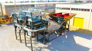 nauja betono gamykla FABO TURBOMIX-120 MOBILE CONCRETE PLANT READY IN STOCK