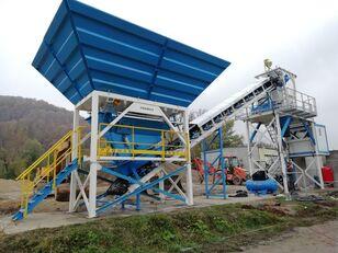 nauja betono gamykla PROMAX Compact Concrete Batching Plant C60-SNG-PLUS (60m3/h)