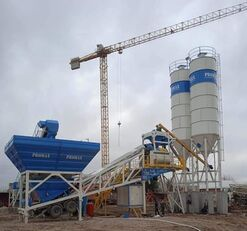 nauja betono gamykla PROMAX Mobile Concrete Batching Plant PROMAX M120-TWN (120m³/h)