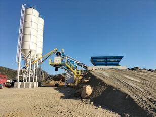 nauja betono gamykla PROMAX Mobile Concrete Batching Plant PROMAX M60-SNG(60m³/h)