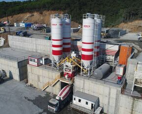 nauja betono gamykla SEMIX LES CENTRALES À BÉTON FIXES Stationnaire 200