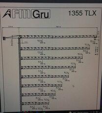 bokštinis kranas FMGru TLX 1355