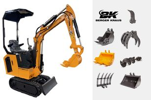 naujas mini ekskavatorius BERGER KRAUS Mini Excavator BK800BS torsion arm with FULL equipment