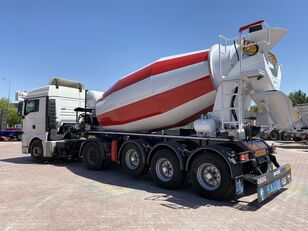 naujas puspriekabė betono maišyklė ALIM mixer semi trailer concrete mixer semi-trailer