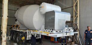 naujas puspriekabė betono maišyklė EXPOTRAILER 12 M3