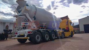 naujas puspriekabė betono maišyklė STU 12.7 CBM MIXER TRAILER