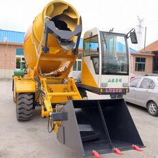 naujas ratinis ekskavatorius LUZUN selfloading concrete mixer