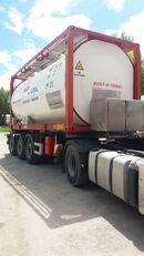20 pėdų tank konteineris VAN HOOL ОРЕНДА / Охолодження -10 / Підігрів + 80